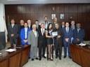 Câmara concede diploma de Mérito Desportivo à atleta Thayanne Guimarães