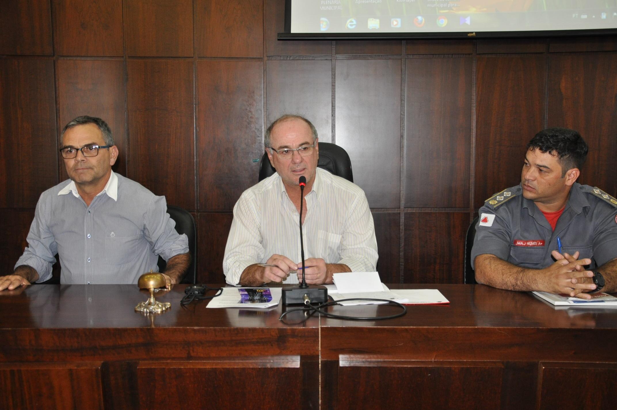 Câmara e Prefeitura avaliam parceria para instalação do 7º Pelotão do Corpo de Bombeiros Militar em João Monlevade