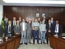Câmara homenageia Fundação ArcelorMittal com Diploma de Honra ao Mérito