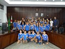 Câmara recebe visita de alunos de Alvinópolis