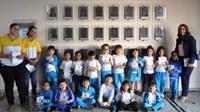 Câmara recebe visita do Centro de Educação Infantil Barquinho Amarelo