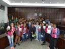 Estudantes da EMIP visitam a Câmara de Monlevade