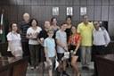 Intercambistas do Rotary Club visitam a Câmara