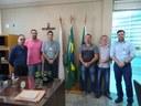 Mesa Diretora da Câmara recebe visita do gerente de RH da ArcelorMittal Monlevade