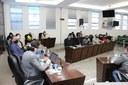Vereadores de João Monlevade e autoridades debatem criação da Procuradoria da Mulher na Câmara
