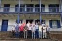 Vereadores visitam Fazenda Solar e Cemitério Histórico